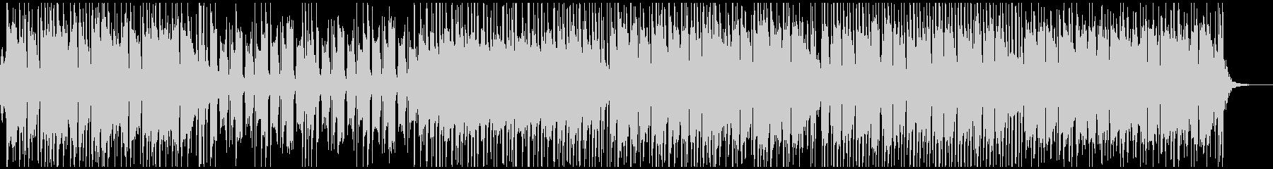 津軽三味線とストリングスの和風ポップの未再生の波形