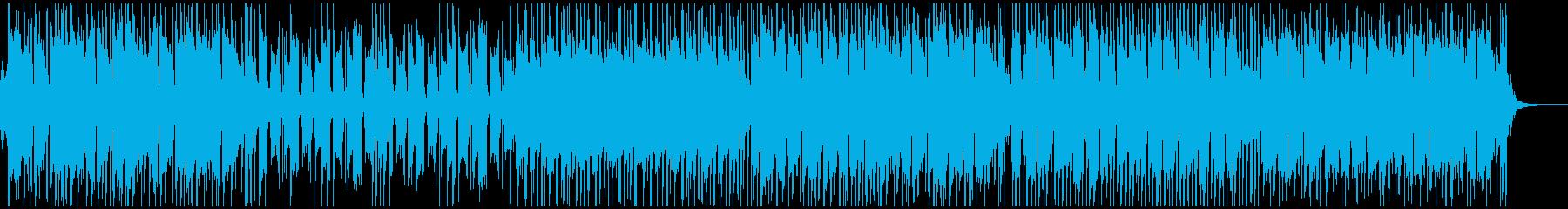 津軽三味線とストリングスの和風ポップの再生済みの波形