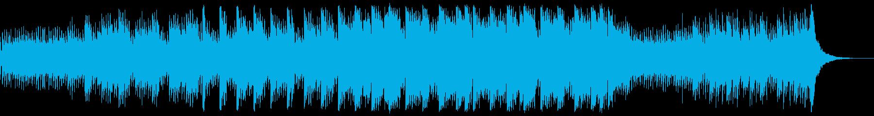 幻想的でゆっくり流れる和風ポップバラードの再生済みの波形
