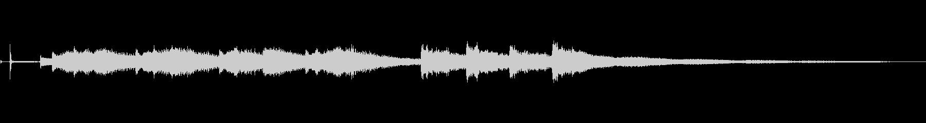ウィンチェスターチャイム:ストライ...の未再生の波形