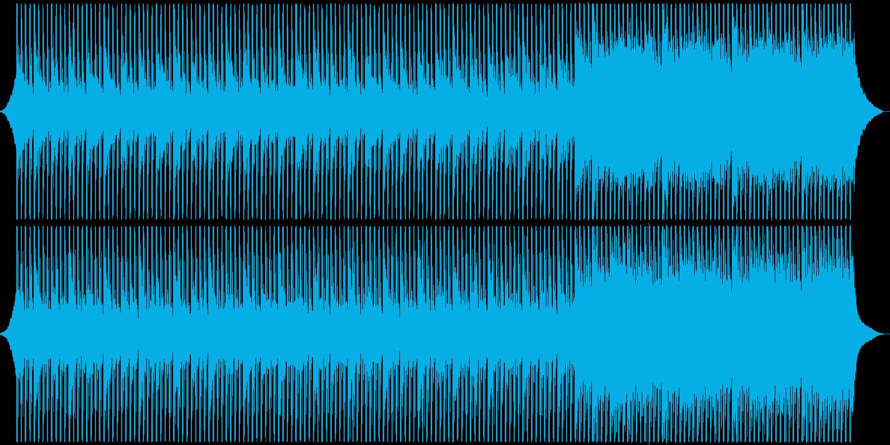 企業VPに!わくわく感動的テクノポップの再生済みの波形