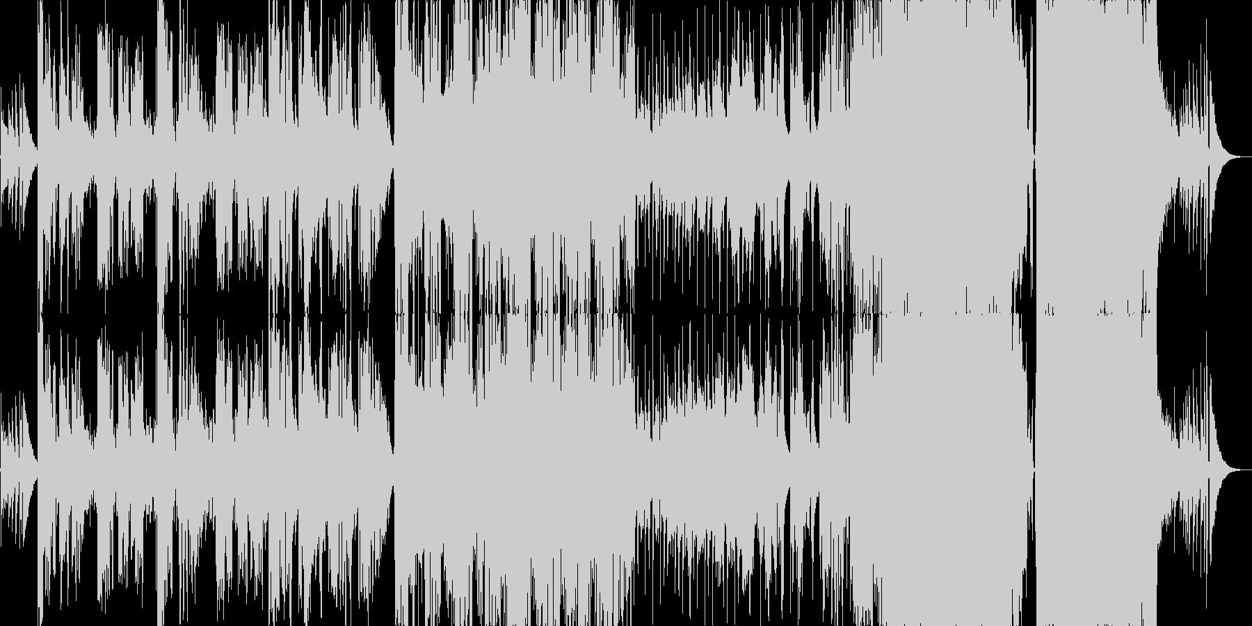 ギターとストリングスが美しいバラードの未再生の波形