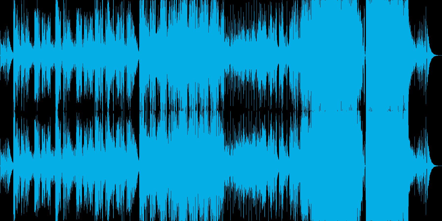 ギターとストリングスが美しいバラードの再生済みの波形
