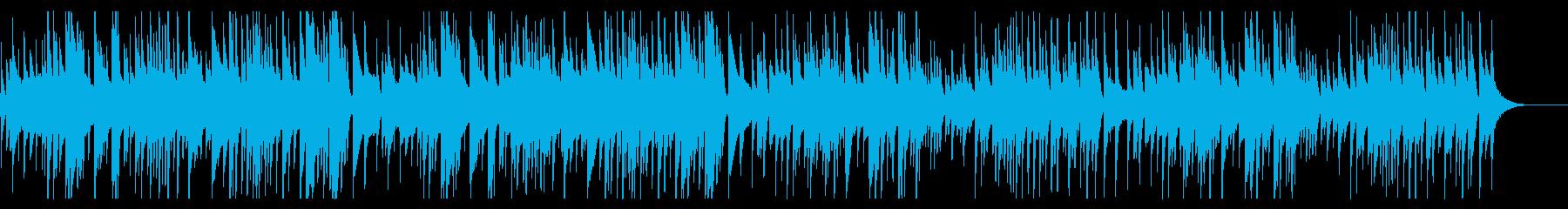 ギター 曲 バッハの再生済みの波形