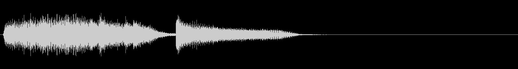 ピアノ・ED・アイキャッチ・場面転換の未再生の波形