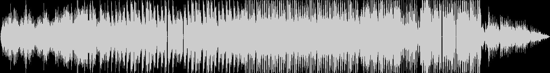 可愛い雰囲気のピアノBGMの未再生の波形