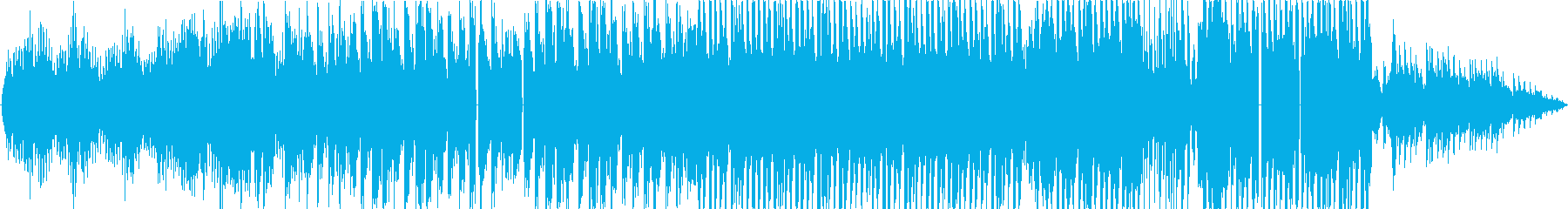 可愛い雰囲気のピアノBGMの再生済みの波形