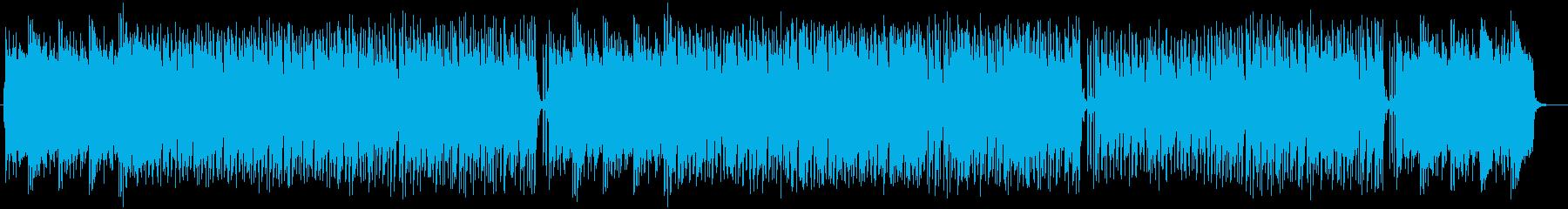 軽やかなほのぼのミュージックの再生済みの波形