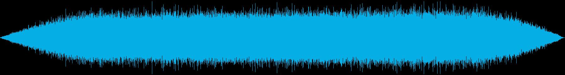 消火ホース:スプレー水、バックグラ...の再生済みの波形