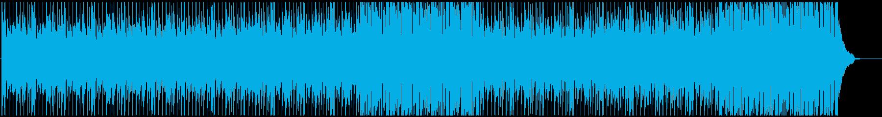 企業VPに 優しい・温かい ピアノメインの再生済みの波形