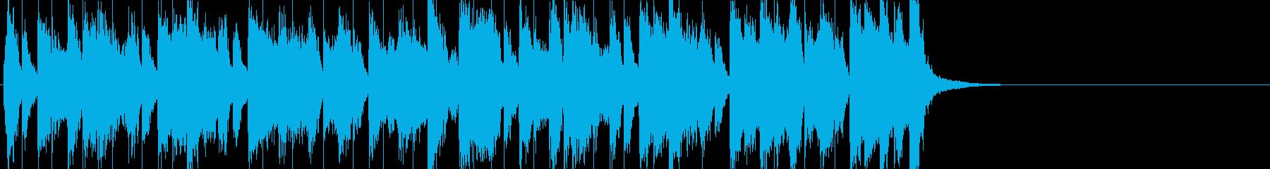 明るく元気でわくわくするジングル_入退場の再生済みの波形