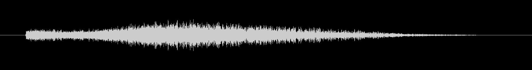 【ガキーン】インパクトのある派手な金属音の未再生の波形