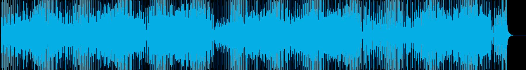 ハッピーで明るいウクレレと口笛BGM♬の再生済みの波形