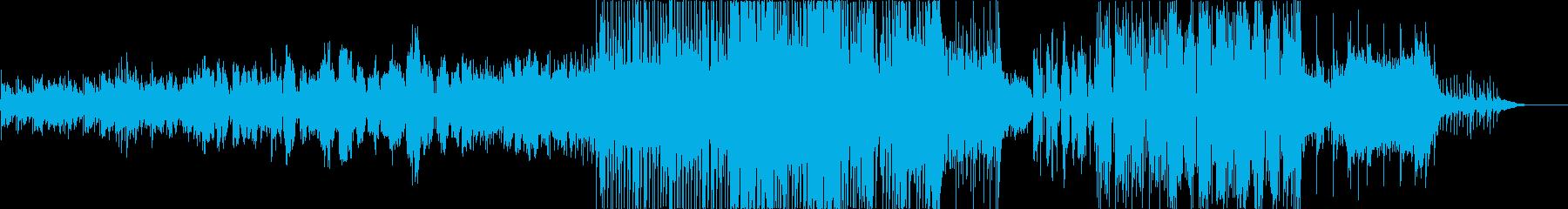ほのぼのした希望溢れるレゲエの再生済みの波形