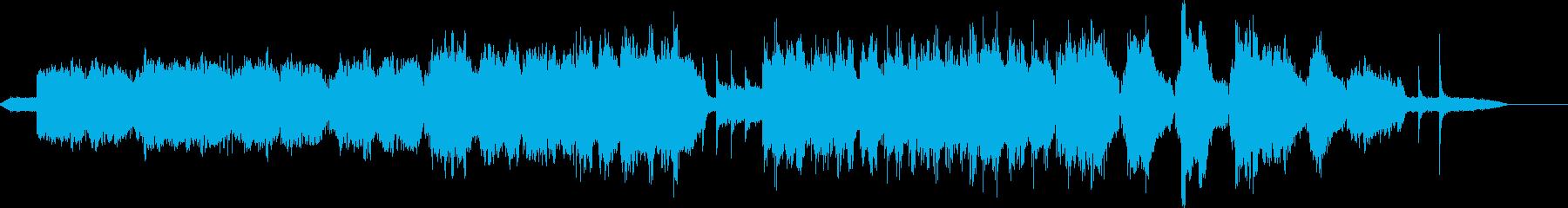 オーボエソロとストリングスによる悲しい…の再生済みの波形