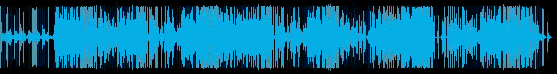 鉄琴の音色ではじまるせつない曲の再生済みの波形