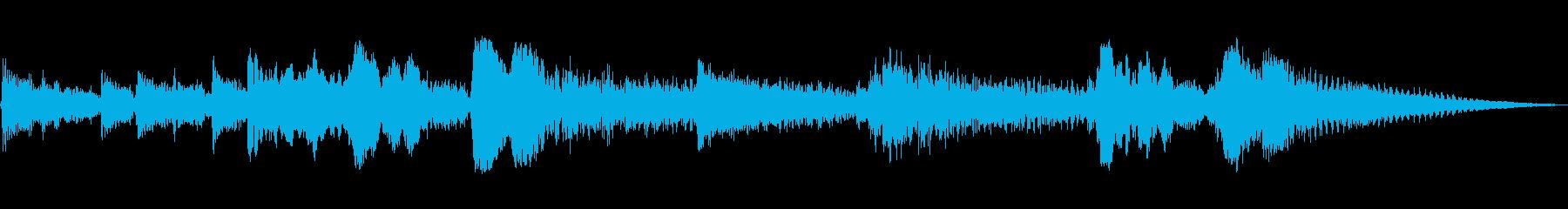 スペイン語のGUITARタグの解決1の再生済みの波形