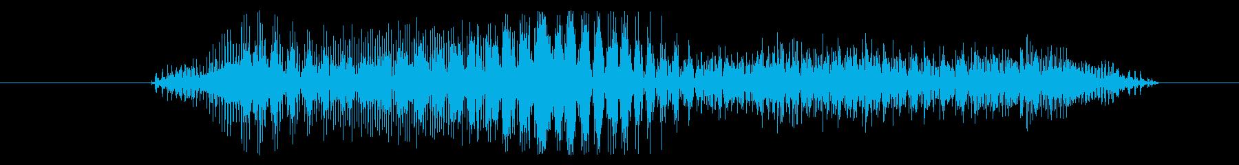 モンスター 痛みを伴う叫び04の再生済みの波形