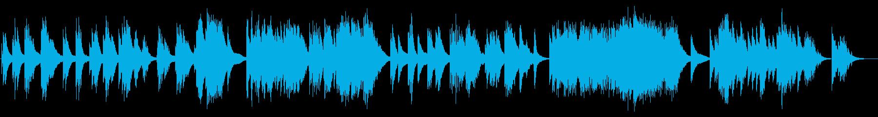 しっとりジャズソロピアノの再生済みの波形
