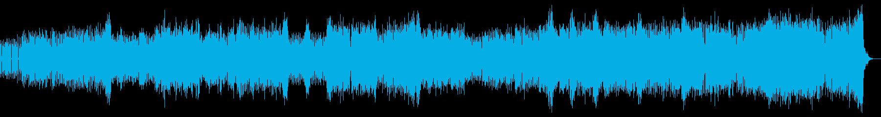 憂鬱なイメージのUKハードコアの再生済みの波形