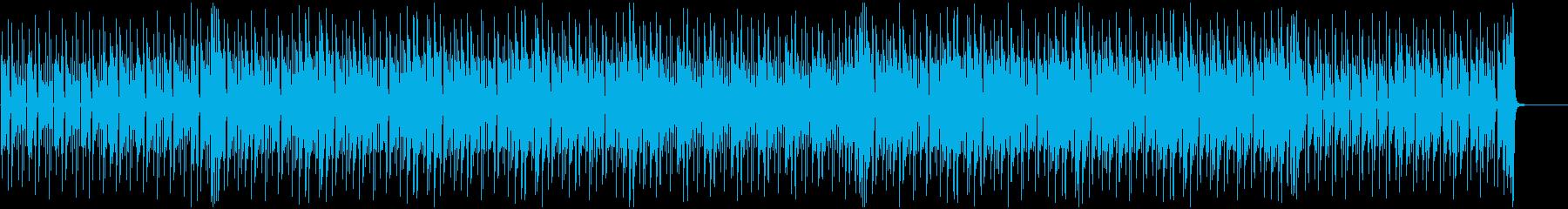 朝に流れる軽やかなピアノとアコギの再生済みの波形