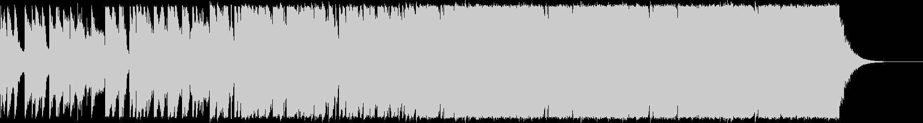 さわやかな80年代風エレクトロポップの未再生の波形