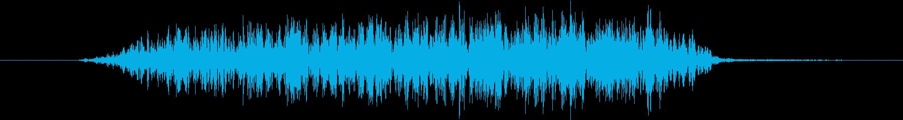 幽霊 ダイスクリーム03の再生済みの波形