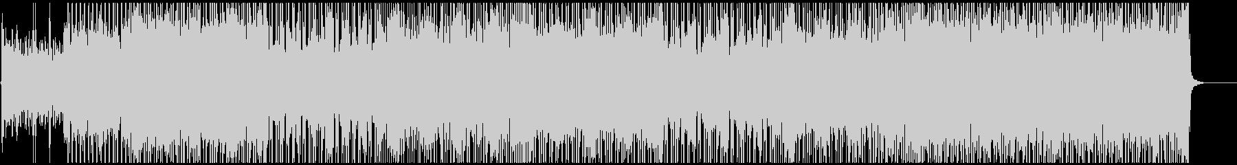 ノリノリ・キャッチーなポップロックの未再生の波形
