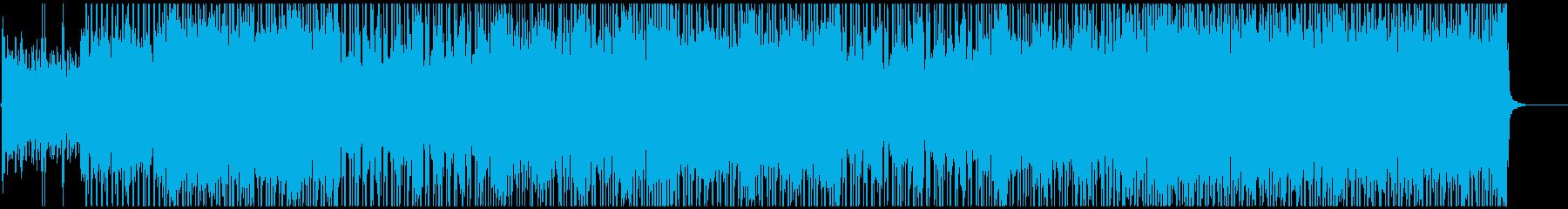 ノリノリ・キャッチーなポップロックの再生済みの波形