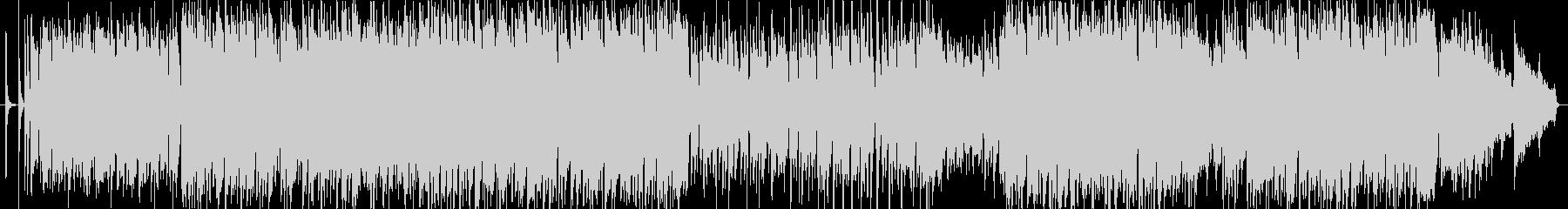 爽快なイメージのアコギ曲(ドラムレス)の未再生の波形