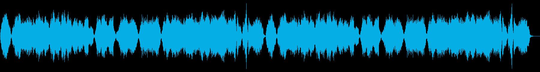優しく切ない感動的な弦楽曲の再生済みの波形