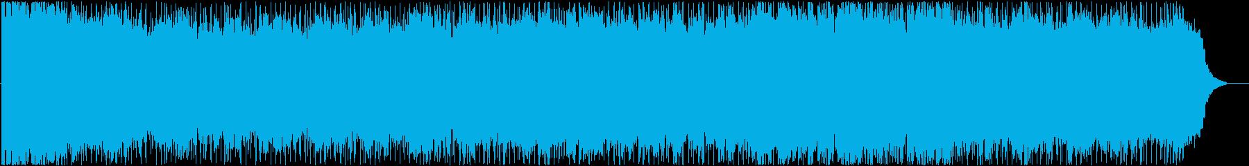 ピアノとストリングスによる爽やかなポップの再生済みの波形