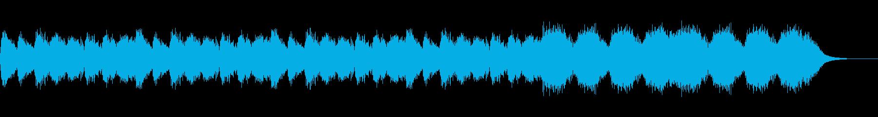 緊張感のあるホラーBGM(短い)の再生済みの波形