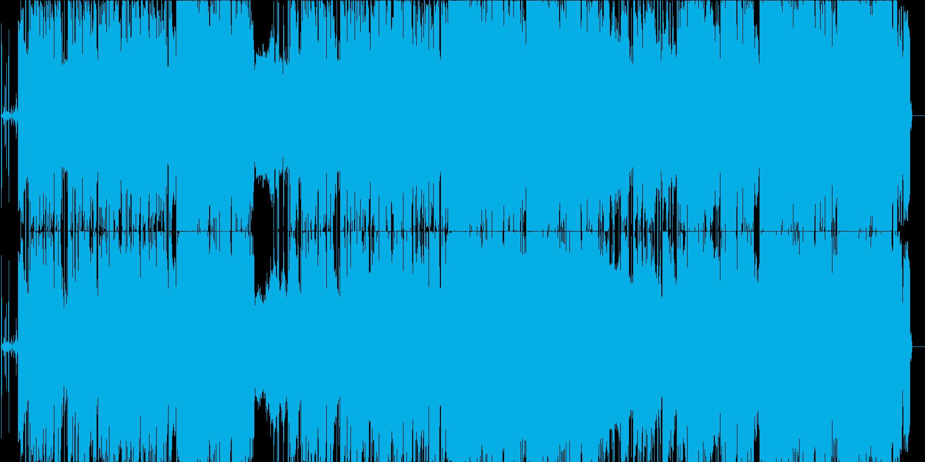 Fashionable and sad love LO-FI R & B's reproduced waveform