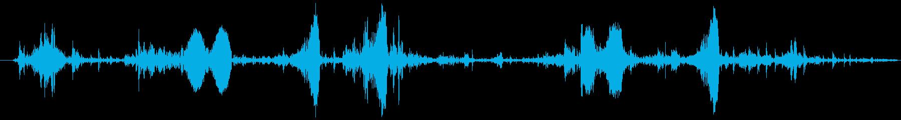 泡 気泡 湧き水(ボコボコ)の再生済みの波形
