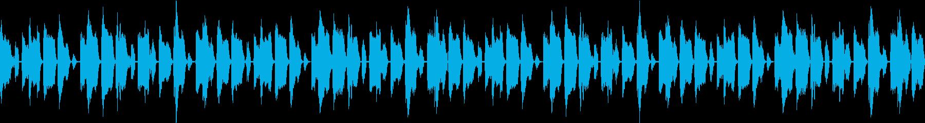 ソウルっぽいレゲトンですの再生済みの波形