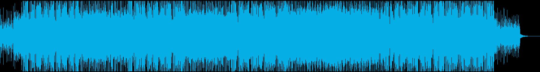 キュートな雰囲気の明るいポップロックの再生済みの波形