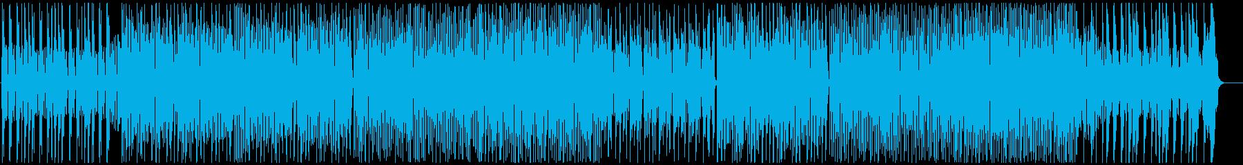 愉快、クラリネットメロ、マーチ風の再生済みの波形