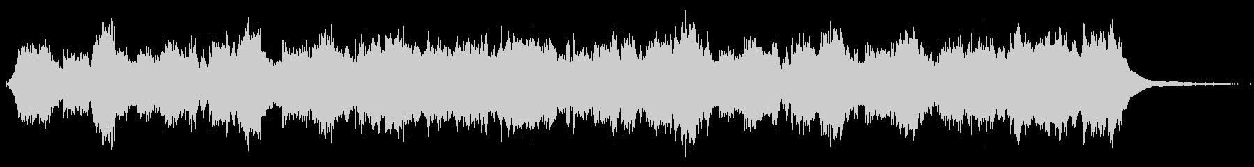 アコーディオンの可愛い20秒のジングルの未再生の波形