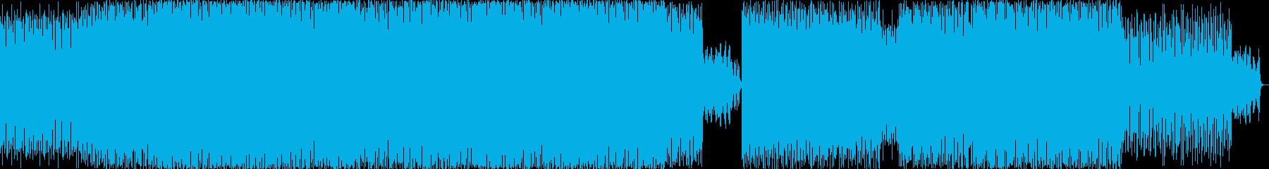 淡々としたコーポレート系BGMの再生済みの波形