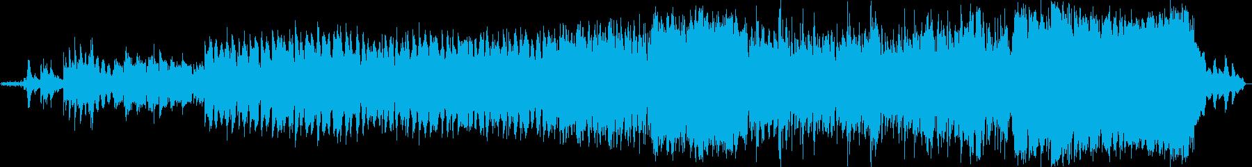 安らぎのヒーリング系ミュージックの再生済みの波形