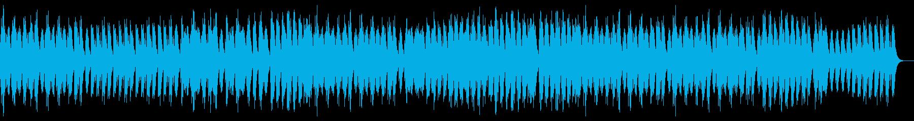 切ないメロディーのオルゴール曲の再生済みの波形