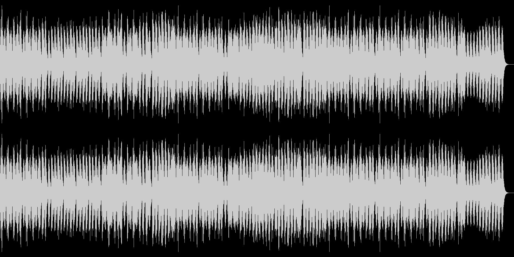 切ないメロディーのオルゴール曲の未再生の波形