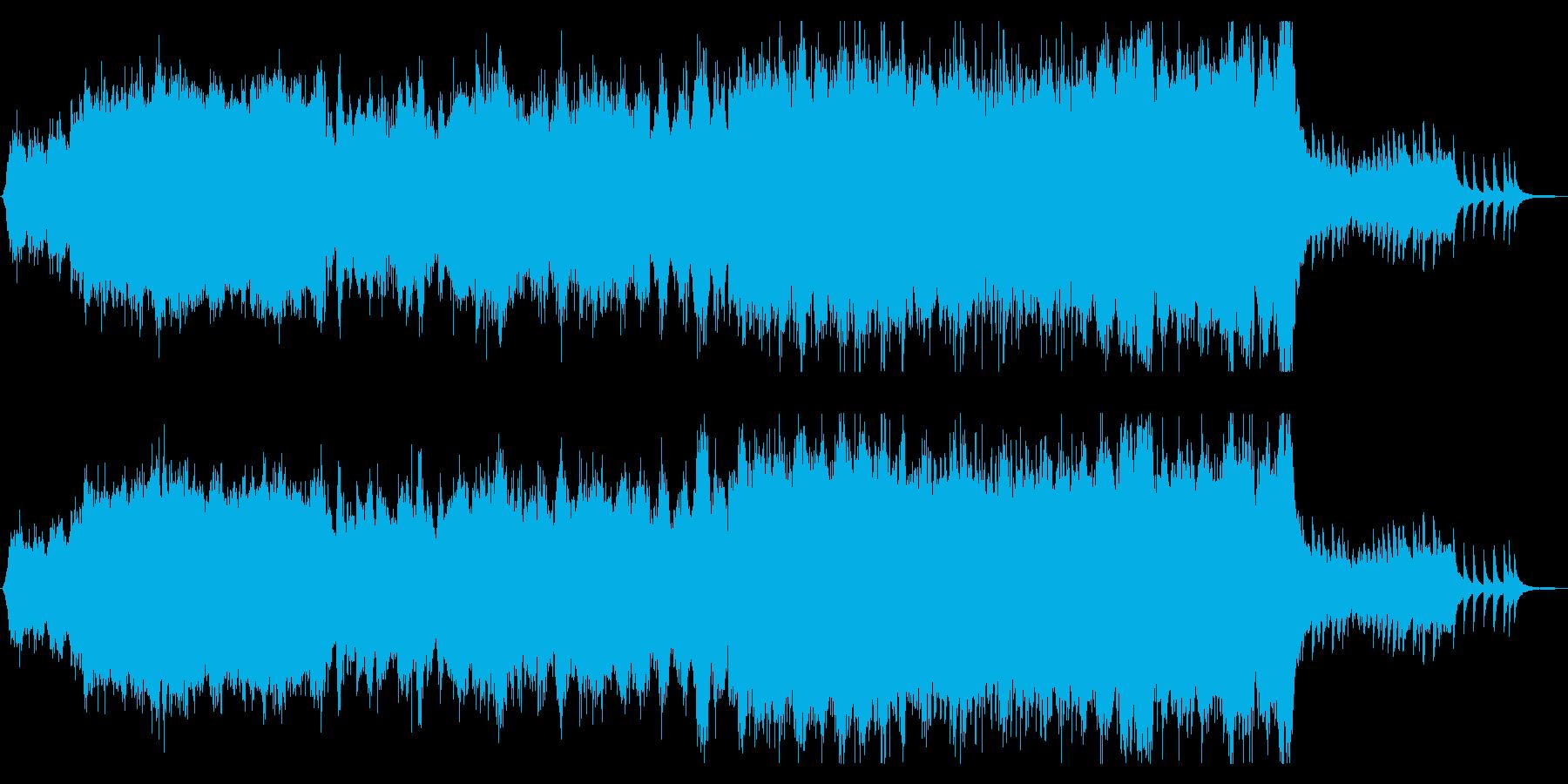 和風ホラー/お化け屋敷/恐ろしい伝承の再生済みの波形