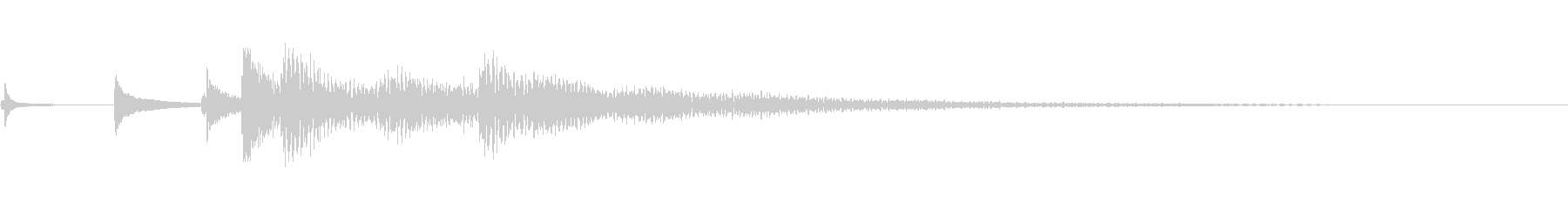 ハープ:リトルランダムグリッシーズ...の未再生の波形