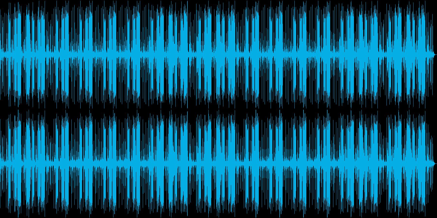 のんびりとしたレゲエの再生済みの波形