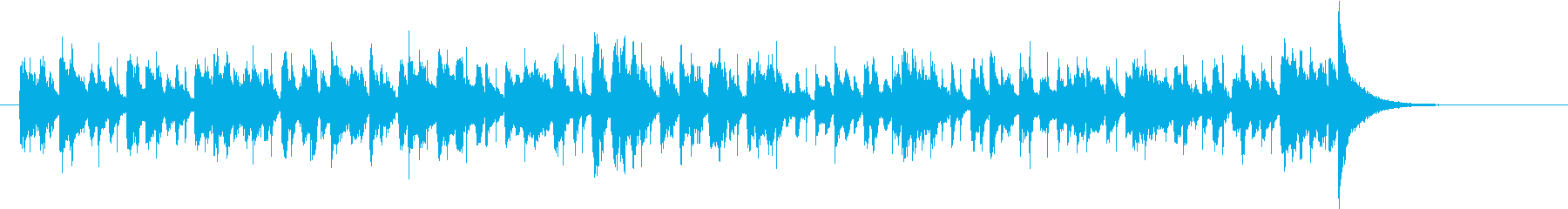 このレトロなサウンドトラックは、大...の再生済みの波形