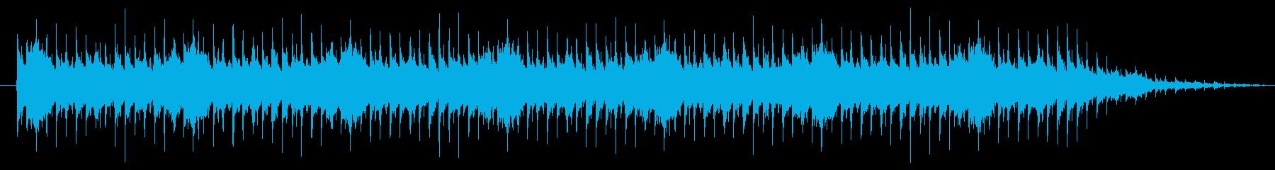 リバース音が特徴的なテクノの再生済みの波形