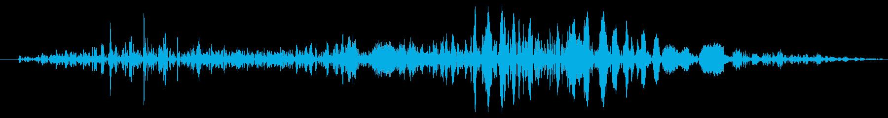 フライング ドラゴン キャラタップ 困惑の再生済みの波形