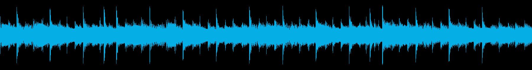 シンプルに力強く進んでいくアコギのロックの再生済みの波形